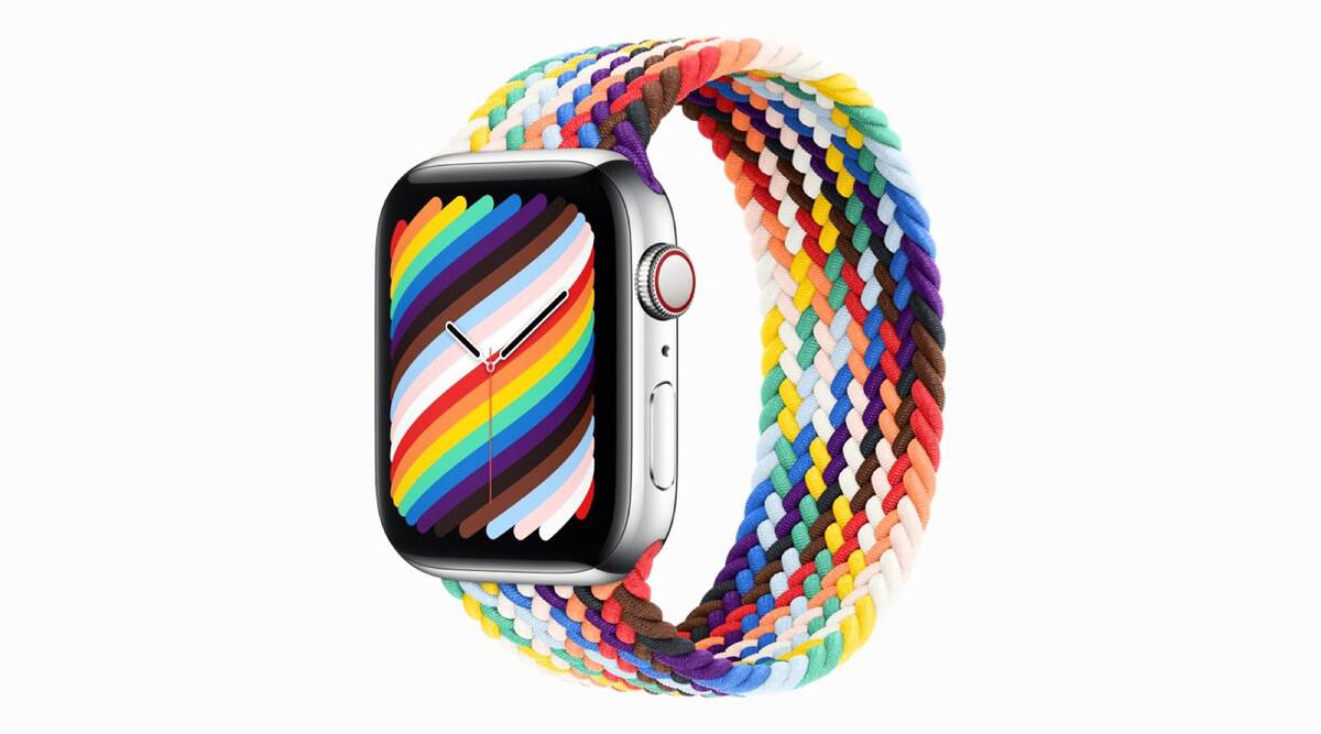 Apple's new Pride Edition bands, Pride bands, Apple's Pride bands, Apple and inclusion of the LGBTQ+ community, International Day Against Homophobia, Transphobia, and Biphobia (IDAHOBIT), indian express news