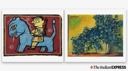 DAG sales, master artworks, artwork exhibition, art exhibition, indianexpress.com, indianexpress, laxman pai, jamini roy artworks, sonu sood foundation, khalsa foundation, artworks for COVID relief efforts,
