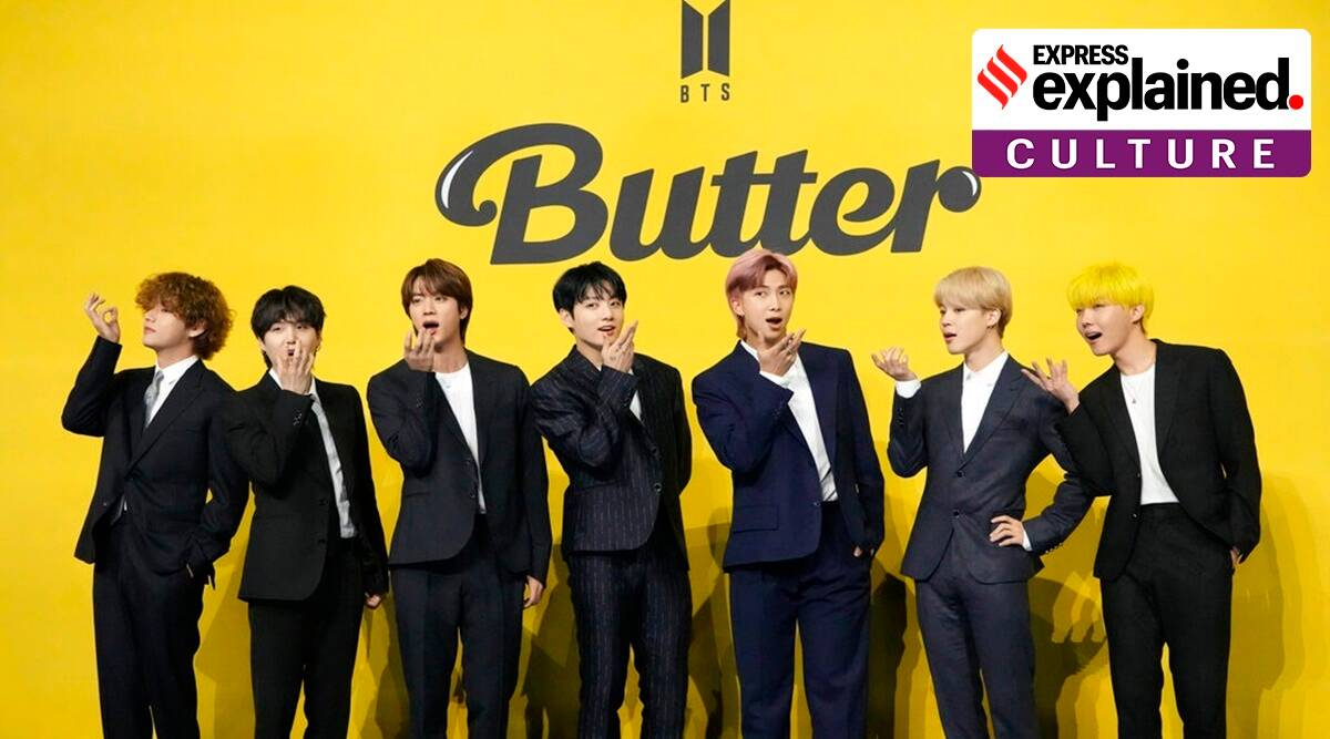 Explained How Butter is BTS's shot at Grammy gold   Explained ...