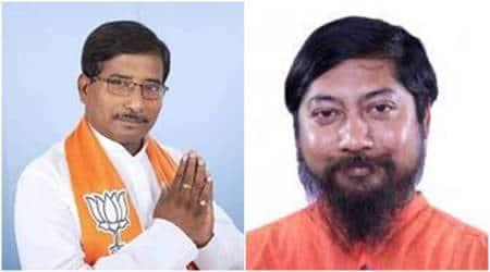 Bengal BJP MLAs quit, Bengal BJP, Bengal news, Bengal polls, Nisith Pramanik and Jagannath Sarkar, India news, indian express