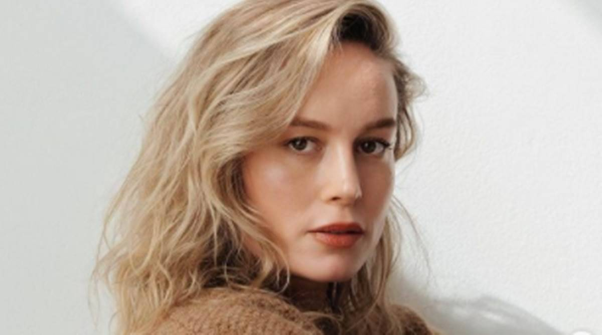 Brie Larson, Brie Larson fitness, Brie Larson news, Brie Larson fitness video, Brie Larson one-arm pull ups, Brie Larson gym workout session, indian express news