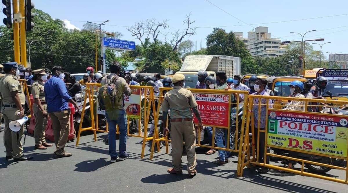 Chennai, Chennai police, COVID-19