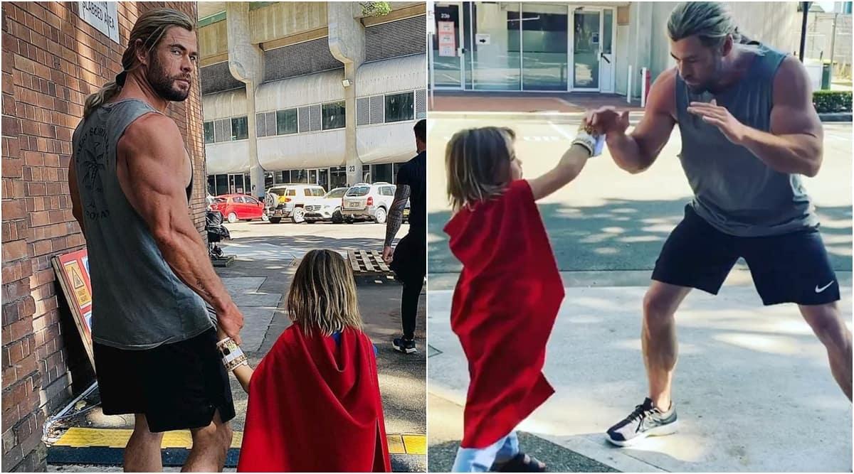 Chris Hemsworth thor son superman