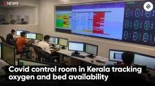 Covid control room in Kerala tracking oxygen and bed availability