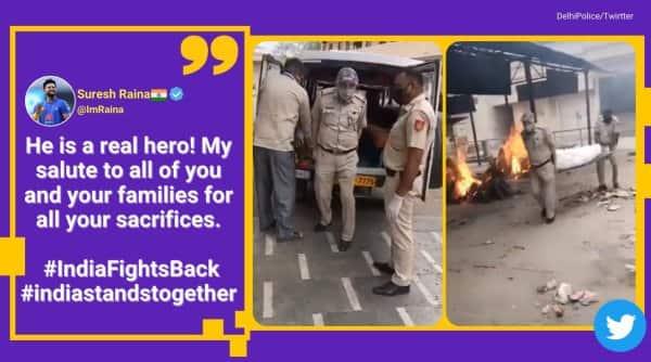 delhi coronavirus crisis, delhi cop postpones daughter wedding for covid duty, delhi officer crematorium duty, delhi cop cremate covid patient, viral news, indian express