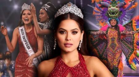 Miss Universe 2020, 69th Miss Universe, Andrea Meza, fashion, beauty pageant, celebrity, Miss Universe Andrea Meza pictures, Miss Universe 2020 pictures, gallery, Andrea Meza photos, Andrea Meza winning pictures, indian express news