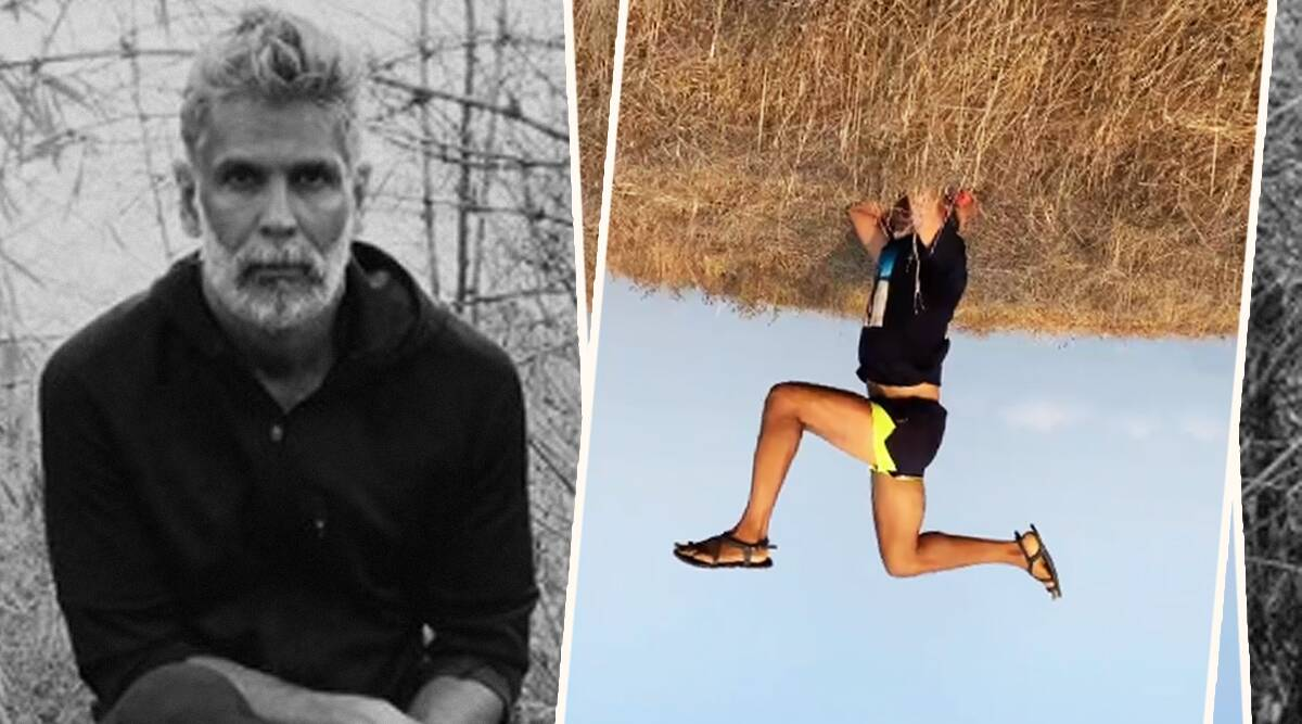 milind soman, fitness, celeb fitness, indianexpress.com, indianexpress, milind soman news, headstand, how to do headstand,
