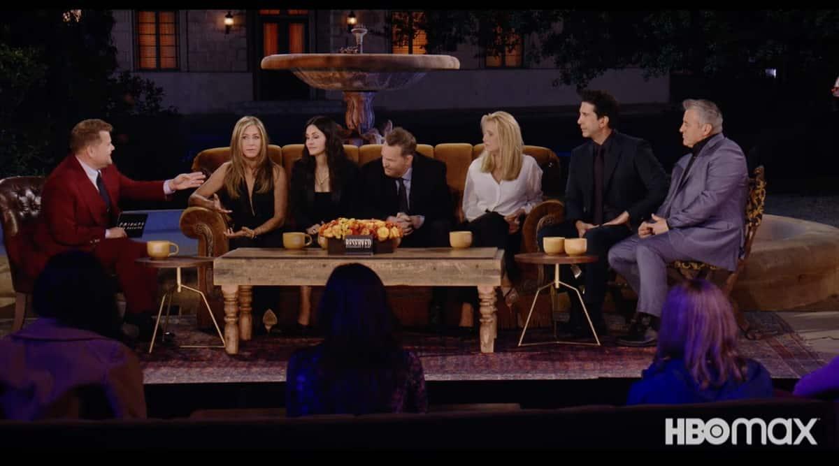 Friends Reunion trailer