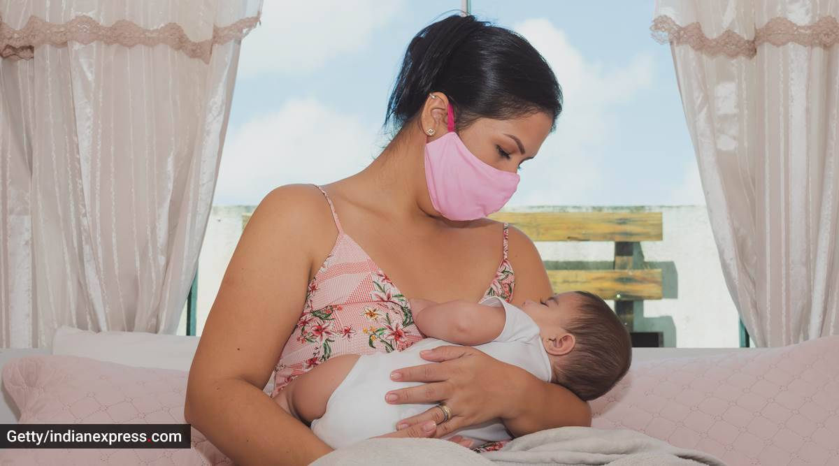 breastfeeding, why breastfeeding is important, breastfeeding in the COVID-19 pandemic, breastfeeding newborn babies, breastfeeding and immunity, breastfeeding and health, indian express news