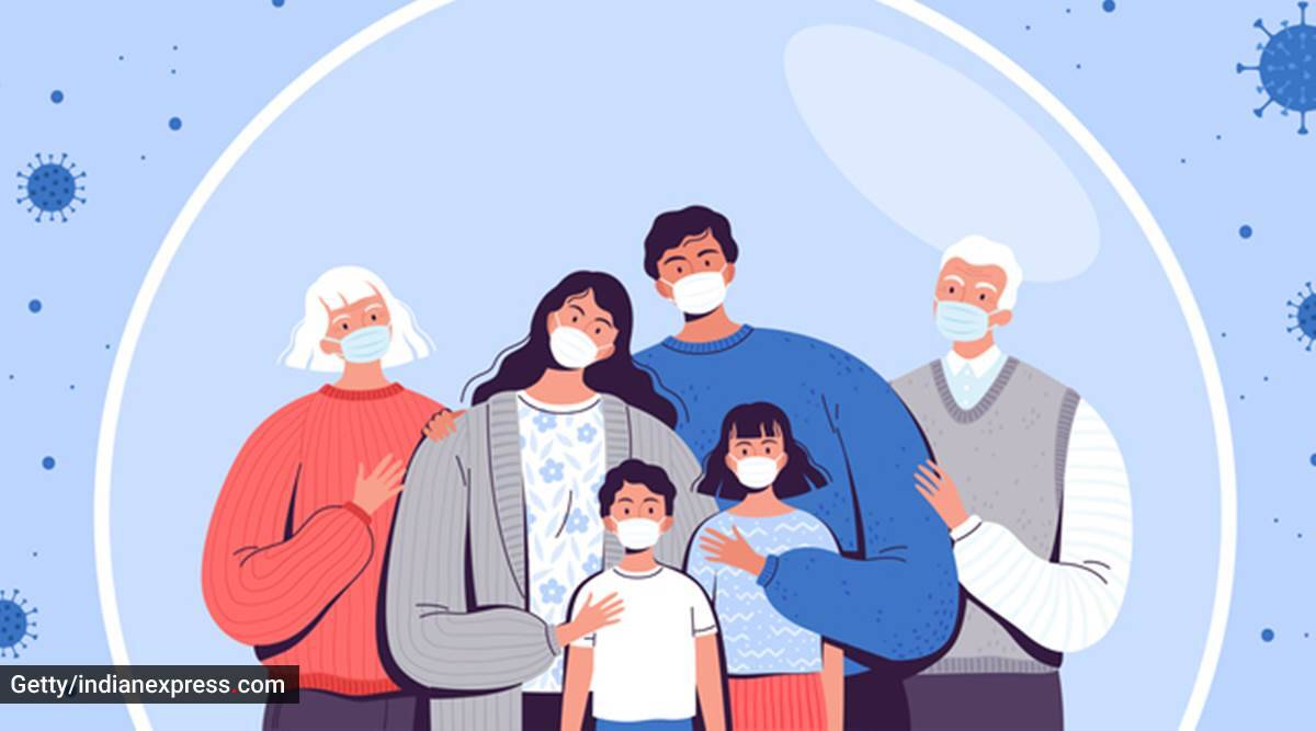 pandemic, losing a parent, loss of parent, children and pandemic, helping children deal with loss of a parent, orphan children, adoption, grief and loss, emotional impact, parenting, psychology, indian express news