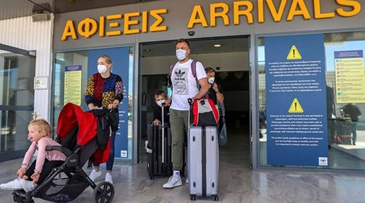 coronavirus pandemic, COVID-19, travelling to Greece, Greece welcomes tourists, visiting Greece, Greece tourism industry, indian express news