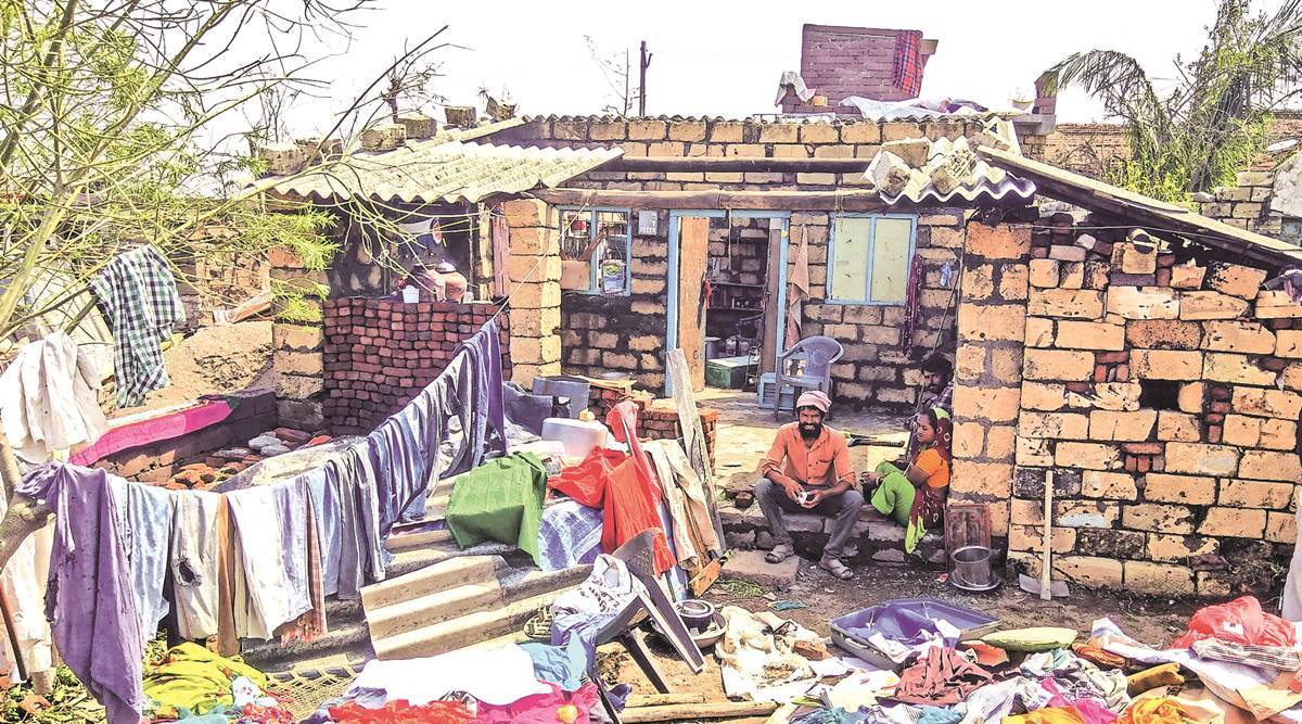 Gujarat: Families in Rajula left with houses without roof, but fixing a costly affair