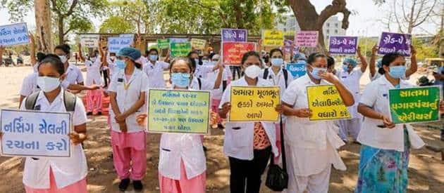 International Nurses Day, Nurses in India, Nurses around the world, Gallery, Pictures, Healthcare workers, Frontline workers, Covid-19, Coronavirus, Florence Nightingale, May 12, Mumbai