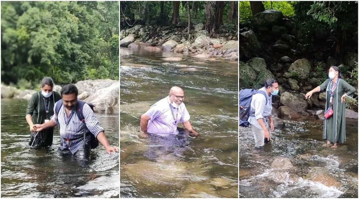 Kerala covid-19, Kerala doctoros tribal village, Kerala doctors crossing rivers, Kerala Covid-19, Covid-19 Kerala, Kerala doctors tribals Covid-19, Covid-19 news Kerala