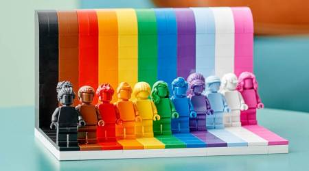 Everyone is Awesome, Lego, Lego set for Pride Month, Lego pride set, Lego LGBTQ-themed set, Lego inclusivity, indian express news