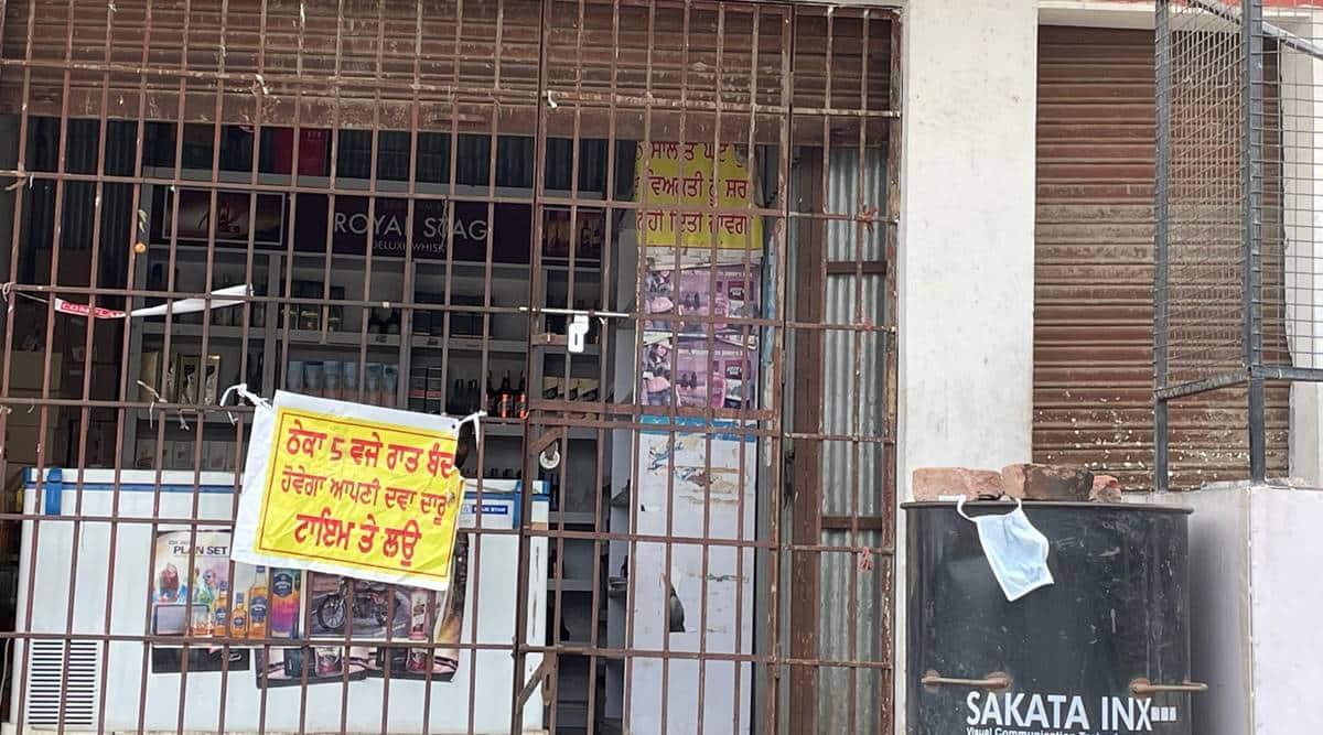 Mohali liquor sales, Chandigarh liquor sales, Chandigarh news, Chandigarh covid cases, Indian express
