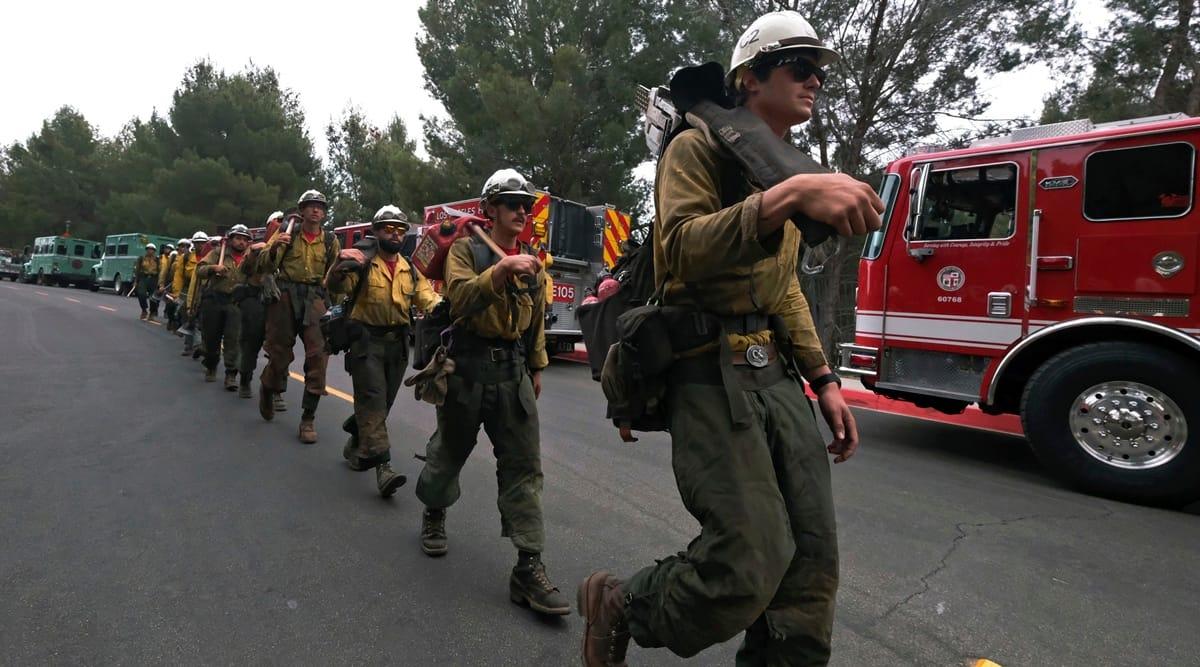 Los Angeles fire