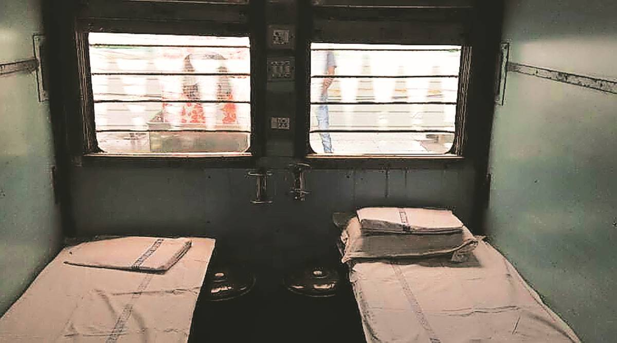 Most rail coaches converted into isolation centres lying unused in three districts