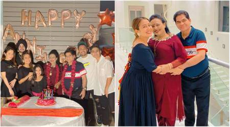 neha kakkar parents wedding anniversary
