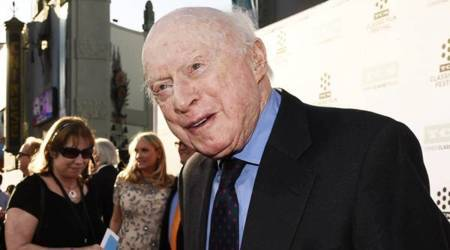 Actor Norman Lloyd