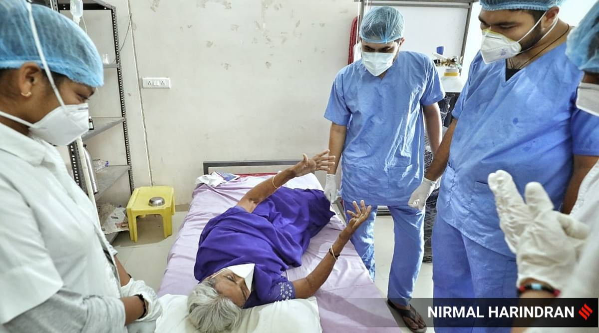 International Nurses Day, International Nurses Day 2021, International Nurses Day theme, Nurses Day, nurses in the COVID-19 frontline, nurses at the Covid war-front, nurses fighting the pandemic, indian express news