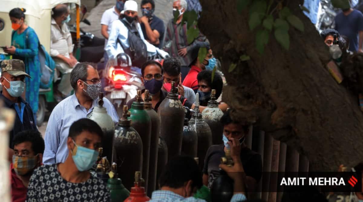 Delhi oxygen covid