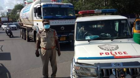 Andhra police trace 'missing' oxygen tanker, escort it to Vijayawada hospital just in time to refill tanks