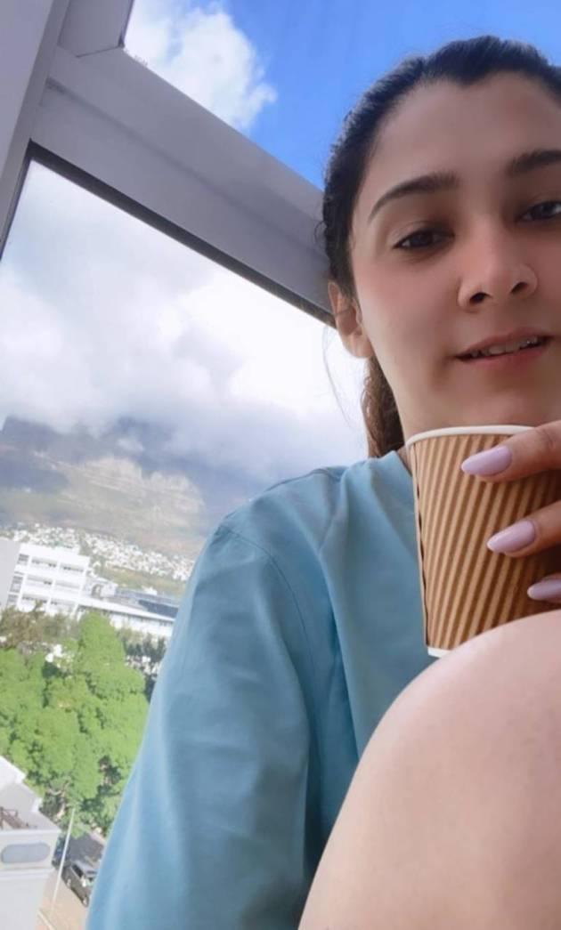 aastha gill in cape town