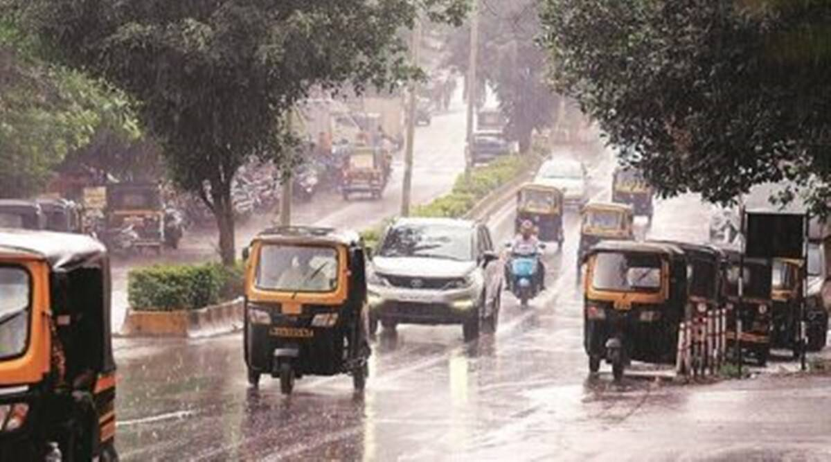 pune, Pune temperature, Pune railnfall news, indian express