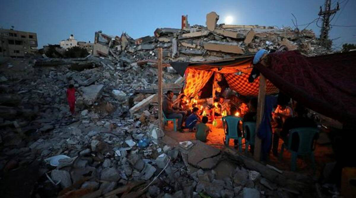 Palestinian killed, Israel Palestine, gaza war, Israel news, world news, Indian express