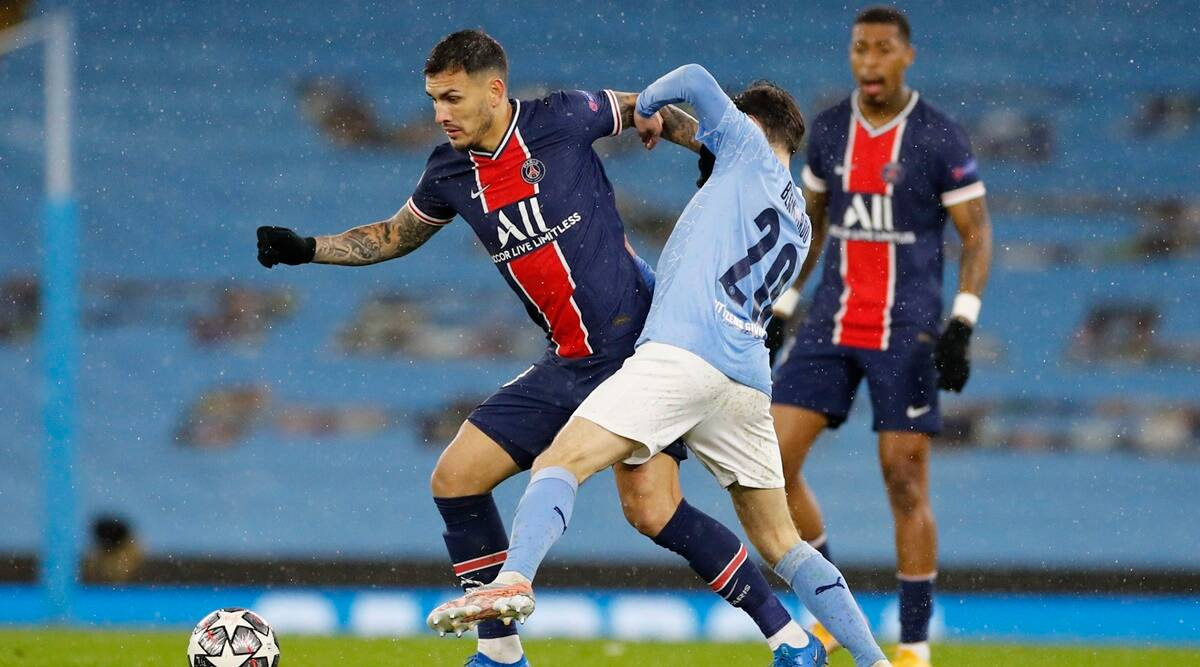 PSG players claim referee swore at them in Man City defeat