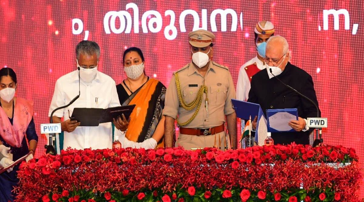 Pinarayi Vijayan Takes Oath As Kerala Cm For 2Nd Time, 20 Ministers  Inducted | India News,The Indian Express