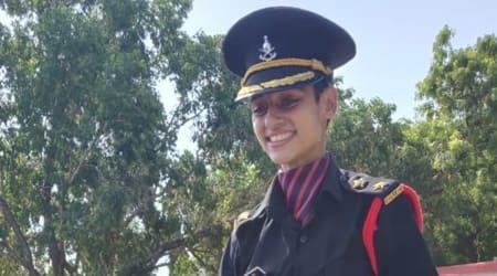 Nitika kaul, Indian Army, Pulwama, Captain Nitika Kaul, Major Dhoundiyal, Major Vibhuti Shankar Dhoundiyal's wife joins army, Jammu, Indian Express