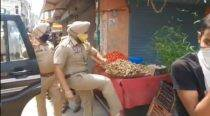 Punjab: SHO suspended after he kicks street vendor's vegetable basket