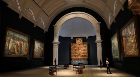 London's V&A museum, V&A museum Raphael gallery, Italian Renaissance master Raphael, Raphael artworks, V&A museum london covid