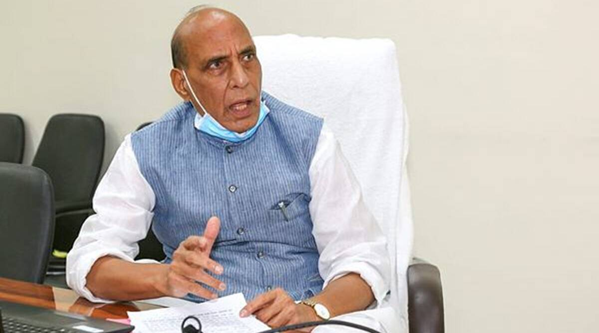 Rajnath Singh, Covid crisis, Defence minitry on covid, India covid cases and deaths, India news, Indian express
