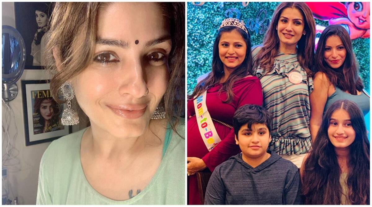 Raveena Tandon on becoming a mom at 21, grandmom at 46: 'My eldest was 11 when I took my girls in'