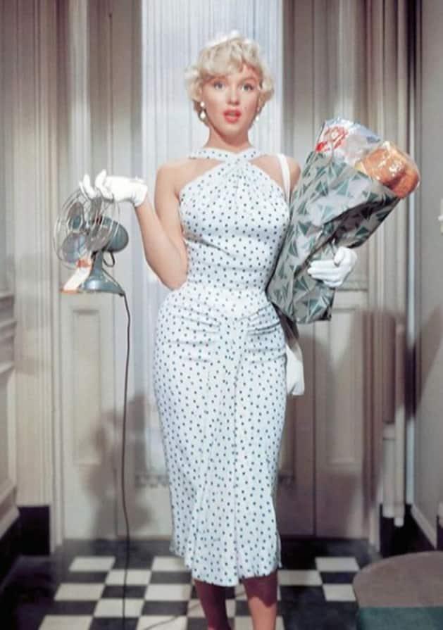 Marilyn Monroe, Fashion icon, Hollywood icon, Hollywood, 60s, vintage fashion