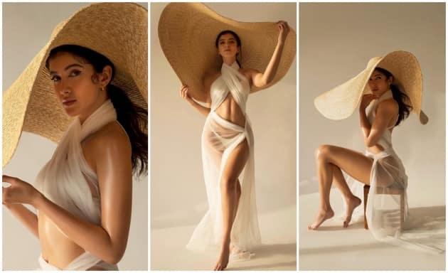 Shanaya Kapoor shares throwback photoshoot