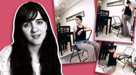 shruti seth, fitness goals, shruti seth fitness news, twisting poses, yoga and twisting, why is twisting important in yoga, poor posture and flexibility, shruti seth yoga, indianexpress.com, indianexpress,