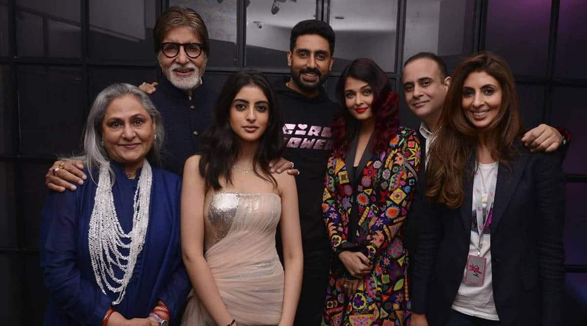 Shweta Bachchan on Abhishek Bachchan