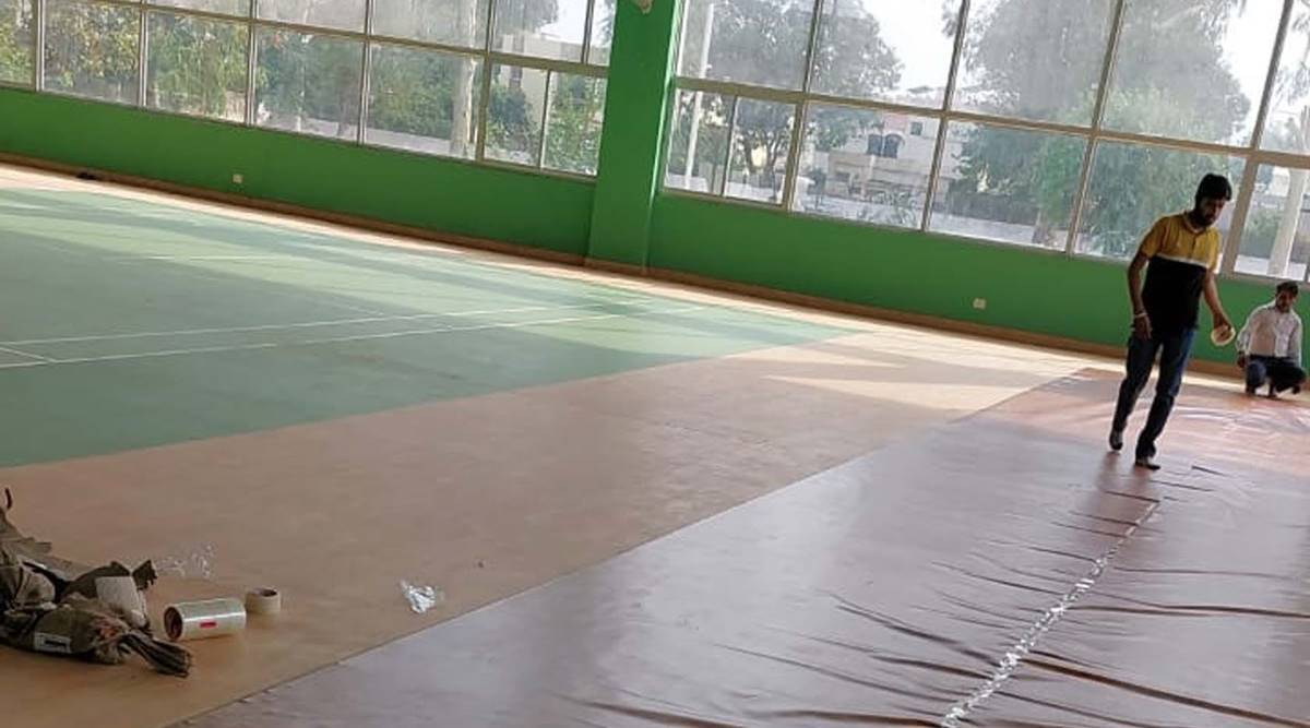 Chandigarh covid centres, Chandigarh news, Chandigrah sports complex, sports complexes to turn into Covid centres, Indian express