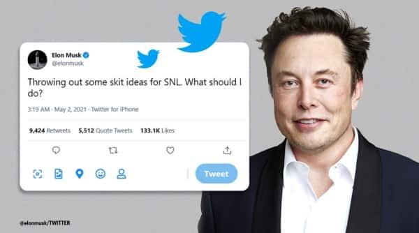 Elon Musk, SNL skit idea on Twitter, Elon Musk SNL host, Elon Musk SNL skit, Elon Musk in SNL, Saturday Night live host Elon Musk, Elon Musk with Miley Cyrus in SNL, Trending news, Express news