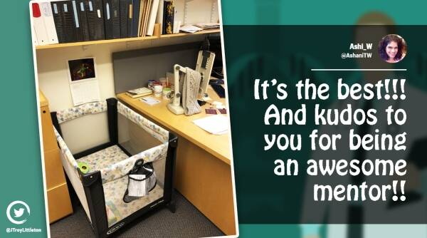 MIT professor, Professor sets up mobile crib in office for graduate's student's baby, trending news, Viral news, good news, positive news, Indian Express news