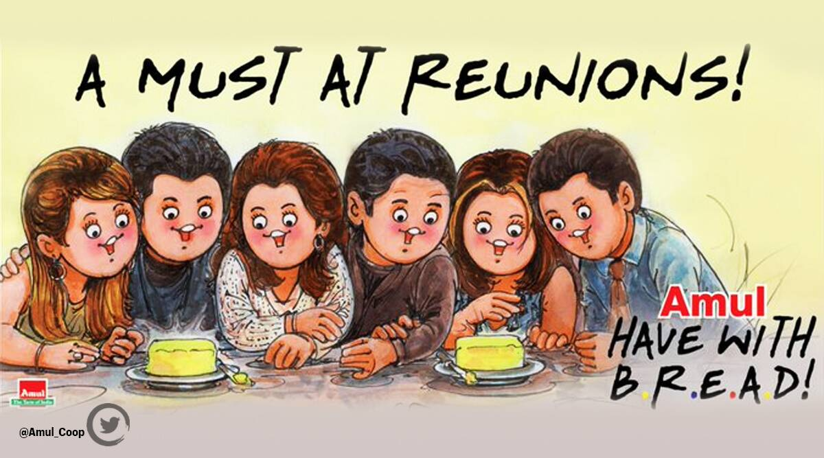 Amul's FriendsReunion special topical is winning the internet