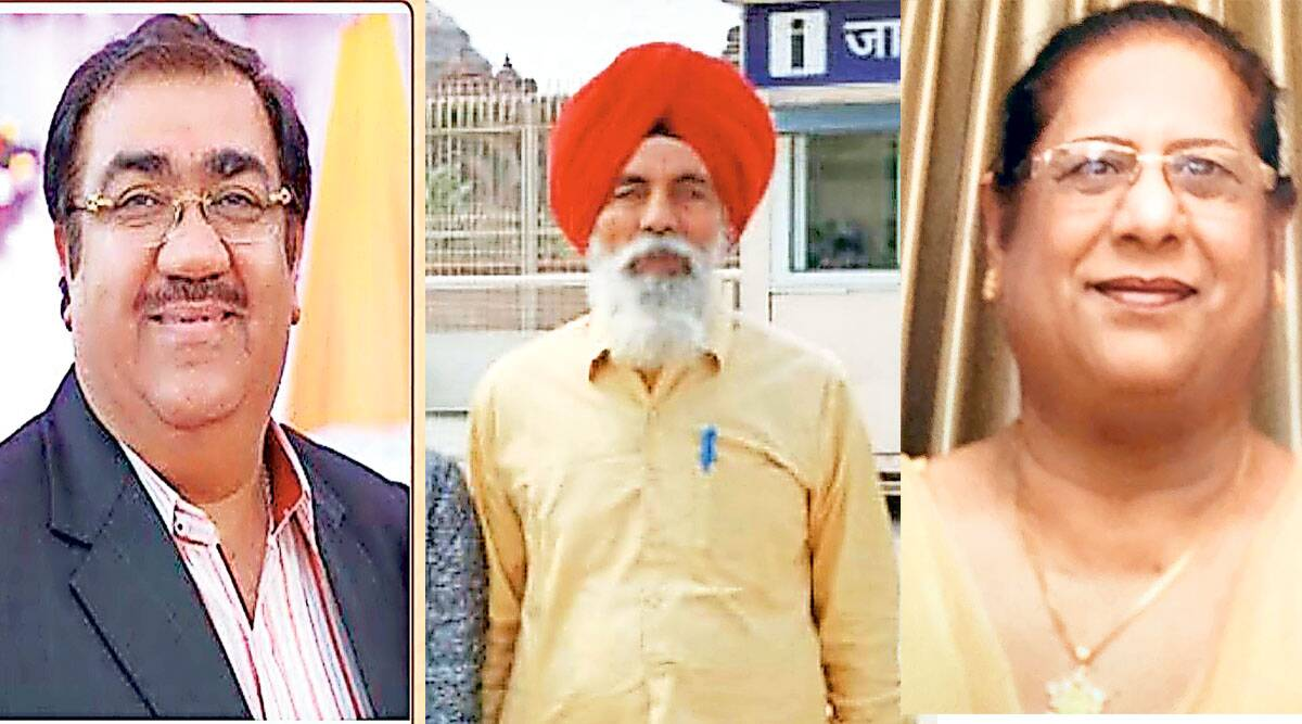 Ludhiana industrialist Dinesh Lakra, Mansa advocate Bhagwant Singh Kulana, Surjit Kaur, Covid-19 India Second Wave, Punjab news, indian express