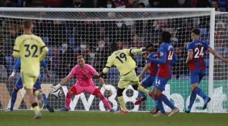 Crystal Palace and Arsenal, EPL