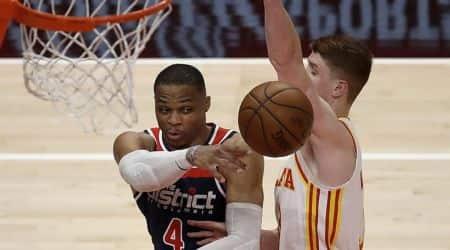 Washington Wizards' Russell Westbrook,