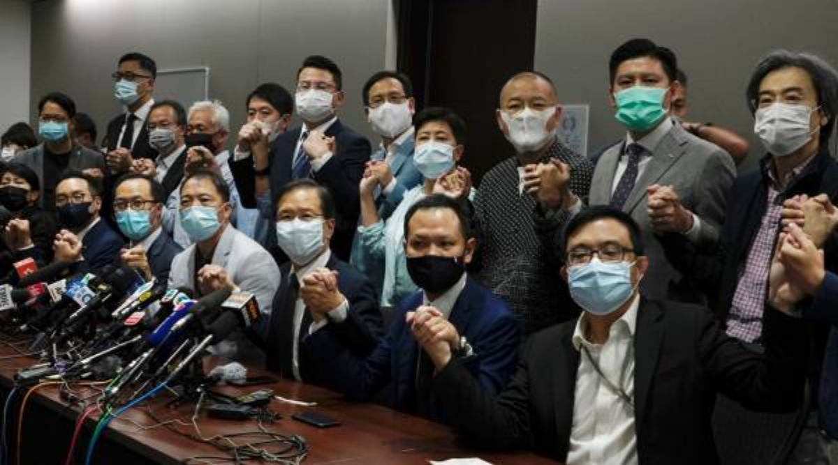 'Patriots rule Hong Kong' as sweeping pro-Beijing electoral rules passed