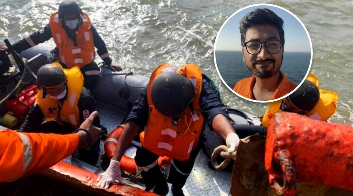 'It was pitch dark, the lights on my lifejacket went out… At that point, I thought I was going to die…'